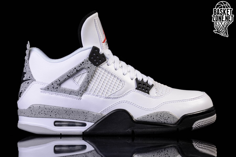 buy popular a2004 46580 NIKE AIR JORDAN 4 RETRO OG  WHITE CEMENT