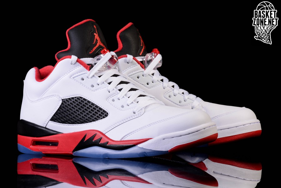 aee75193316 NIKE AIR JORDAN 5 RETRO LOW FIRE RED price €162.50