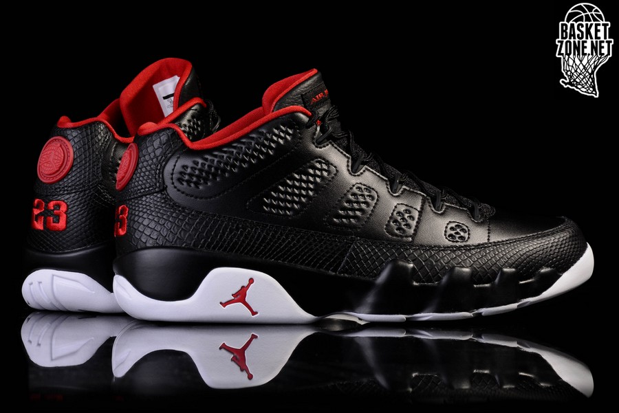 new arrival 09e27 0de1b NIKE AIR JORDAN 9 RETRO LOW BRED