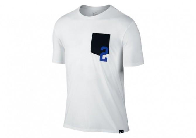 18deb6f00 NIKE KYRIE 2 POCKET TEE WHITE/BLACK für 707,50₴ | Basketzone.net