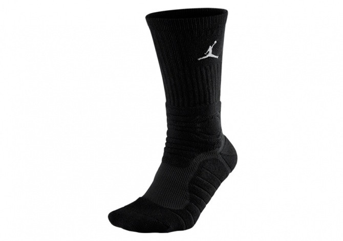 JORDAN ULTIMATE FLIGHT CREW SOCKS BLACK