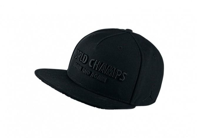 NIKE AIR JORDAN CELEBRATION PACK CAP SNAPBACK BLACK