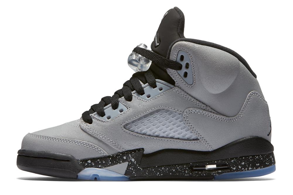sneakers for cheap 7d694 b06ff NIKE AIR JORDAN 5 RETRO GG WOLF GREY