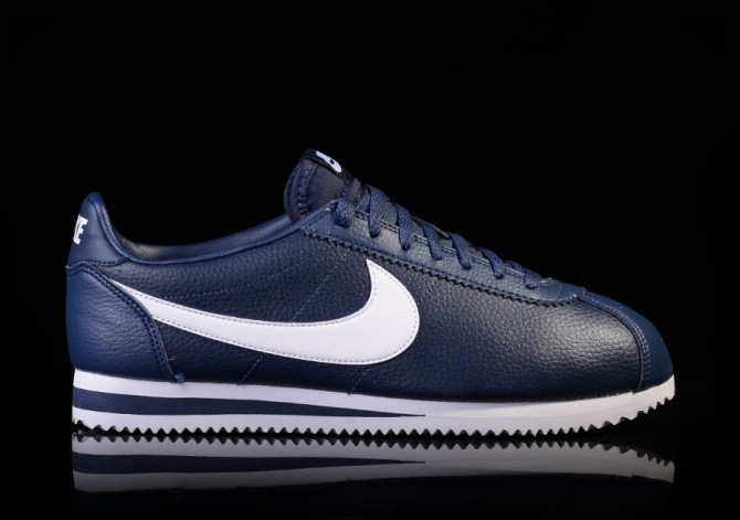 04ef1a3671a1b8 ... discount nike classic cortez leather midnight navy white 85d59 8d677