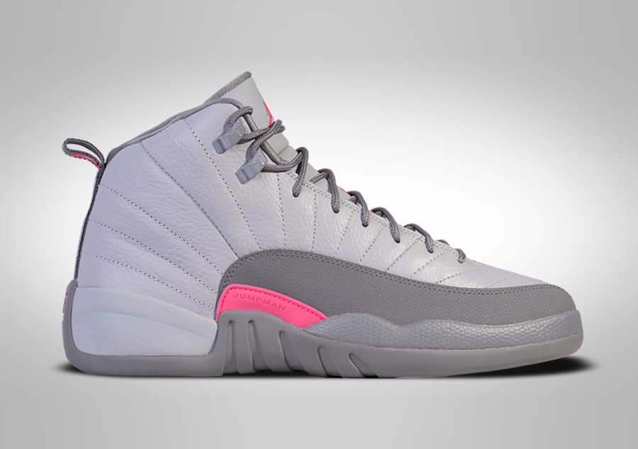 5df58abbce6 ... cheapest nike air jordan 12 retro wolf grey vivid pink price 117.50  basketzone 39266 47f7b