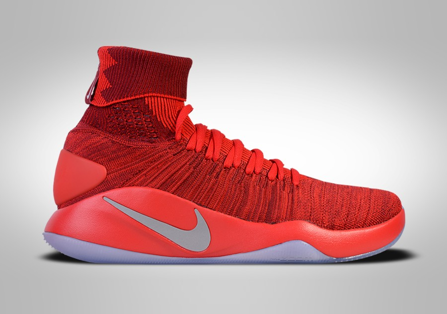 low cost 3873a f3c18 NIKE HYPERDUNK 2016 FLYKNIT TEAM RED