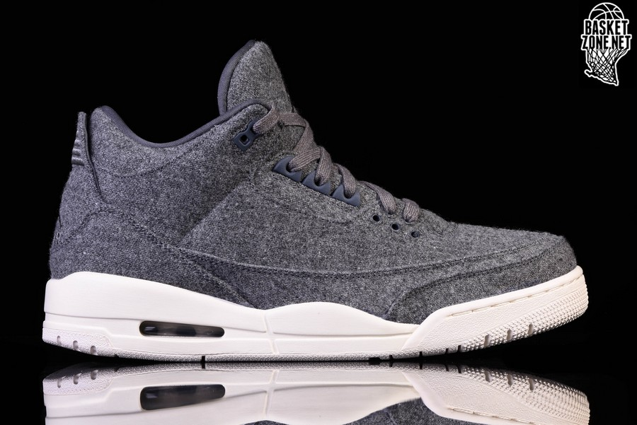 the best attitude 560ef f2781 NIKE AIR JORDAN 3 RETRO WOOL BG