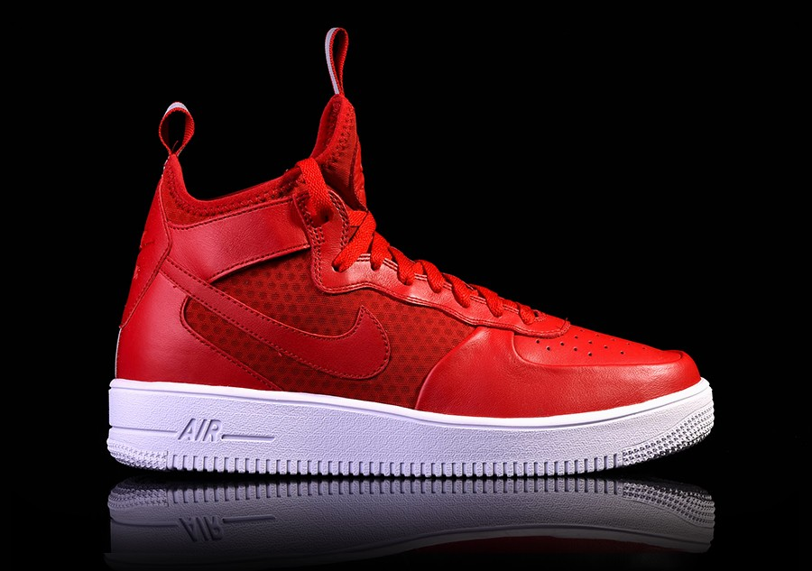 716bcc70954 NIKE AIR FORCE 1 ULTRAFORCE MID GYM RED price €105.00