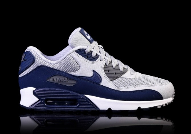 the latest cf08e 504ea NIKE AIR MAX 90 ESSENTIAL WOLF GREY