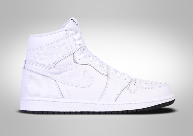 NIKE AIR JORDAN 1 RETRO HIGH OG WHITE PERFORATED PACK