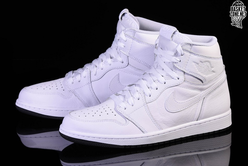 f2c34a0eb NIKE AIR JORDAN 1 RETRO HIGH OG WHITE PERFORATED PACK per €117