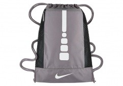 NIKE HOOPS ELITE GYMSACK CHARCOAL WHITE