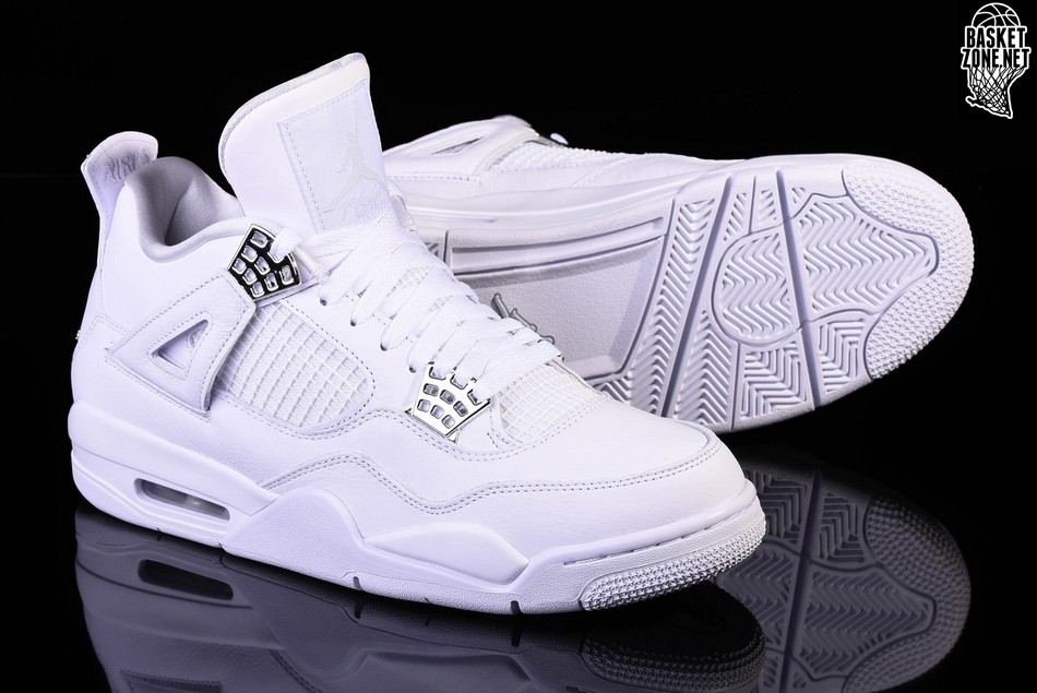 on sale fd836 c1c13 NIKE AIR JORDAN 4 RETRO PURE MONEY