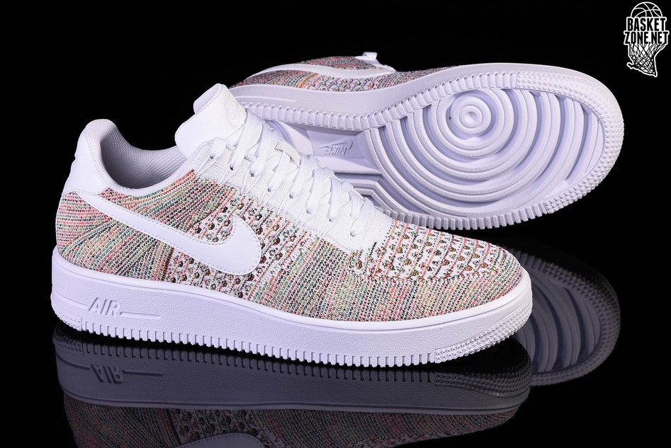 af0070a76690 NIKE AIR FORCE 1 ULTRA FLYKNIT LOW YELLOW STRIKE. 817419-701