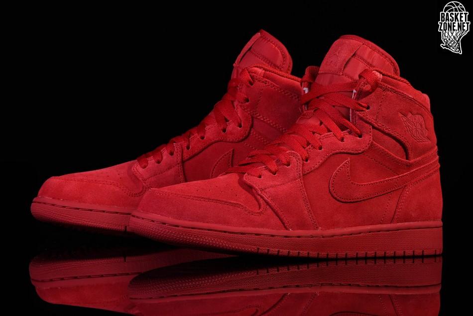 sale retailer 95025 061ee NIKE AIR JORDAN 1 RETRO HIGH RED SUEDE