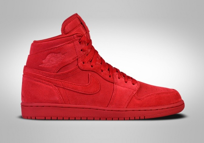 6a0729e94e535 NIKE AIR JORDAN 1 RETRO HIGH RED SUEDE price €117.50
