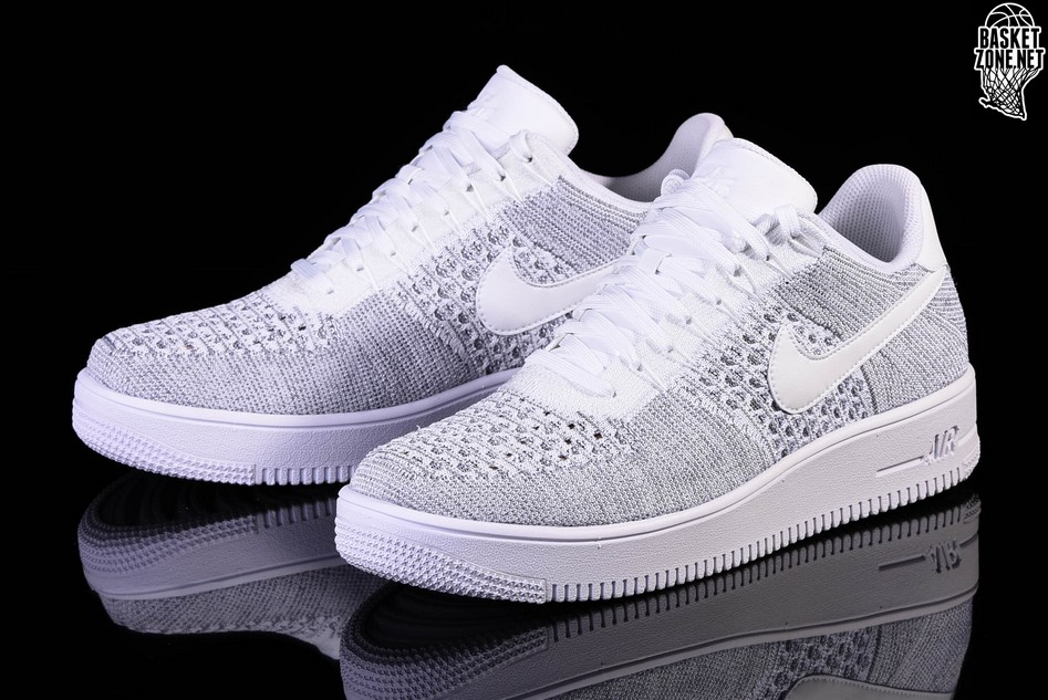 purchase cheap 66728 5bdcc NIKE AIR FORCE 1 ULTRA FLYKNIT LOW COOL GREY