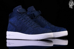 32e228e493c7d NIKE AIR FORCE 1 ULTRA FLYKNIT MID COLLEGE NAVY price €127.50 ...