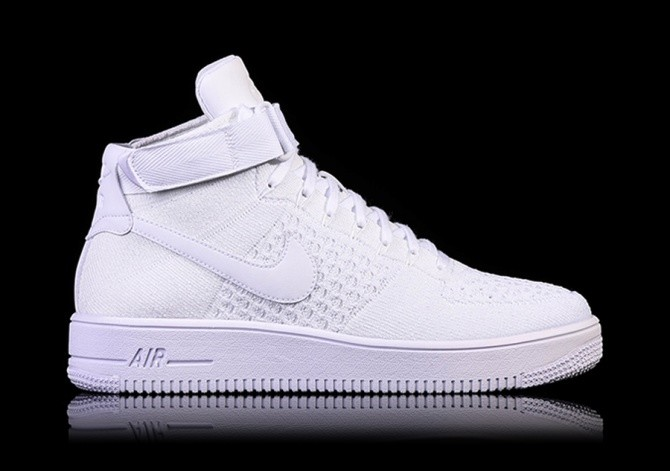 check out 308c1 0cbc1 NIKE AIR FORCE 1 ULTRA FLYKNIT MID WHITE