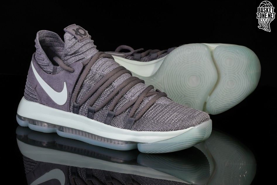 NIKE COOL ZOOM COOL KD 10 COOL ZOOM NIKE Gris IGLOO pour 13900 Basketzone 88d181