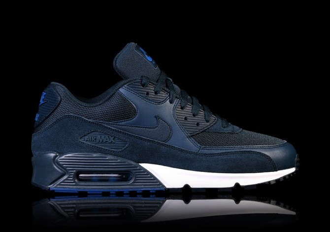 43a6fdf915f0 NIKE AIR MAX 90 ESSENTIAL NAVY BLUE price €117.50