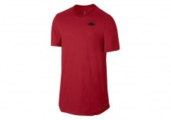 NIKE AIR JORDAN FUTURE 2 TEE GYM RED BLACK