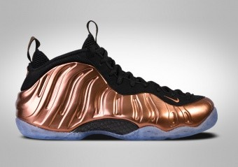 NIKE AIR FOAMPOSITE ONE METALLIC COOPER