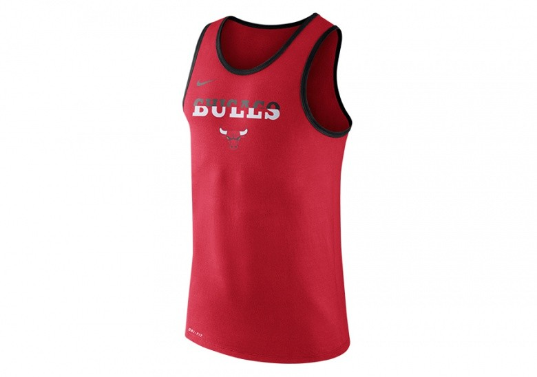 NIKE NBA CHICAGO BULLS DRY LOGO TANK UNIVERSITY RED