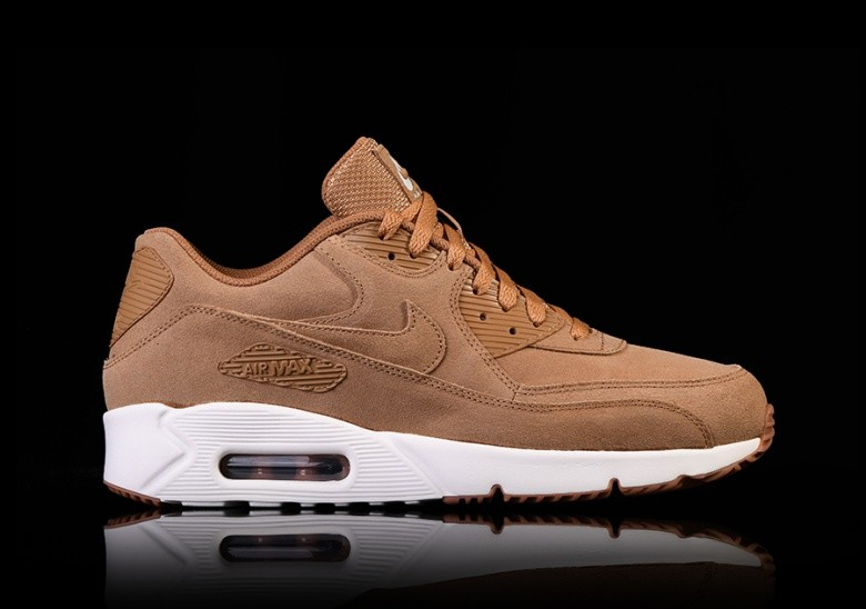 new products 60b77 19feb NIKE AIR MAX 90 ULTRA 2.0 LEATHER FLAX