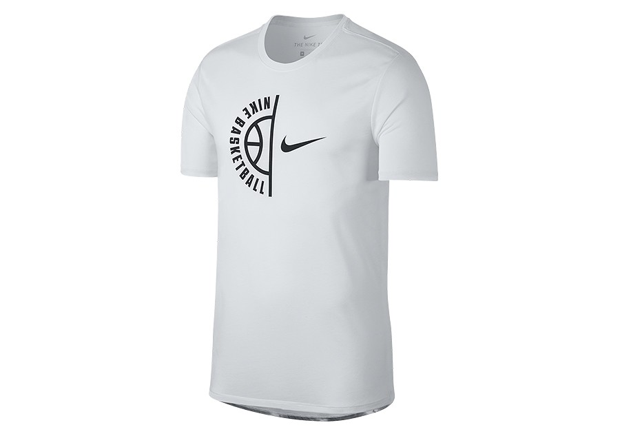 47d487aa NIKE FLY CLOUDS DRY BASKETBALL TEE WHITE price €29.00 | Basketzone.net