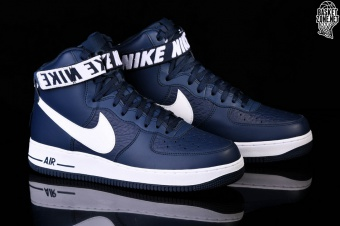 separation shoes 49abd 38cf7 NIKE AIR FORCE 1 HIGH  07 NBA COLLEGE NAVY