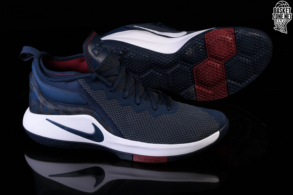 new concept 7caf7 34371 NIKE LEBRON WITNESS II COLLEGE NAVY