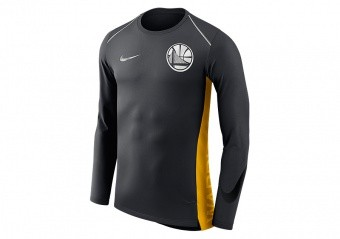 NIKE NBA GOLDEN STATE WARRIORS HYPER ELITE TOP BLACK PINE