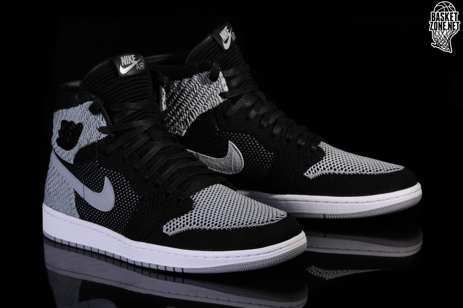 44532c64559acc NIKE AIR JORDAN 1 RETRO HIGH FLYKNIT BLACK SHADOW price €127.50 ...