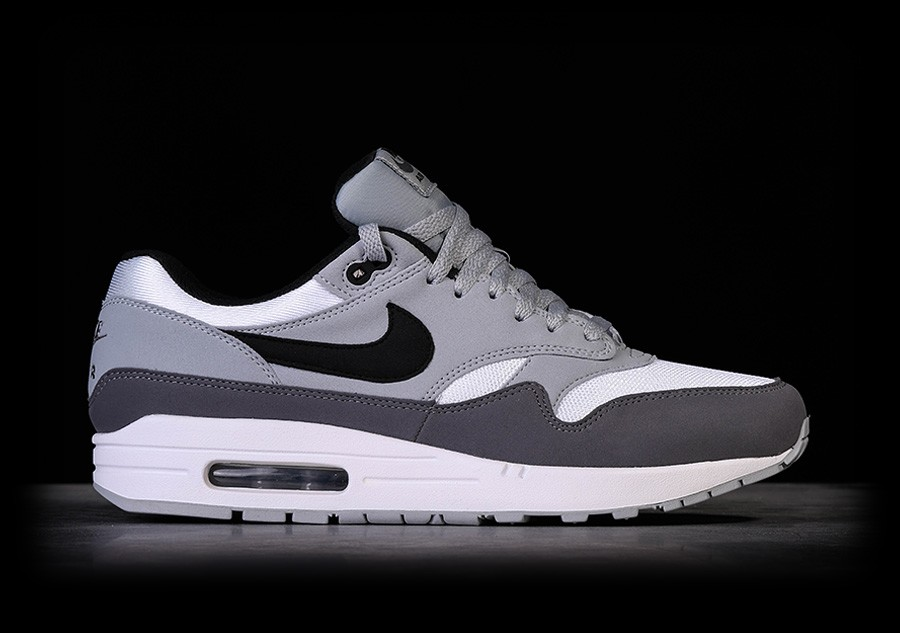 Mode 2017 Nike Air Max 1 Ultra Essential (Dames) whitewolf