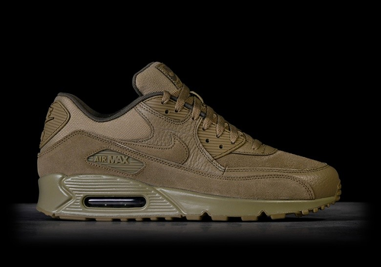 best sneakers d454b 9e7f6 NIKE AIR MAX 90 PREMIUM NEUTRAL OLIVE