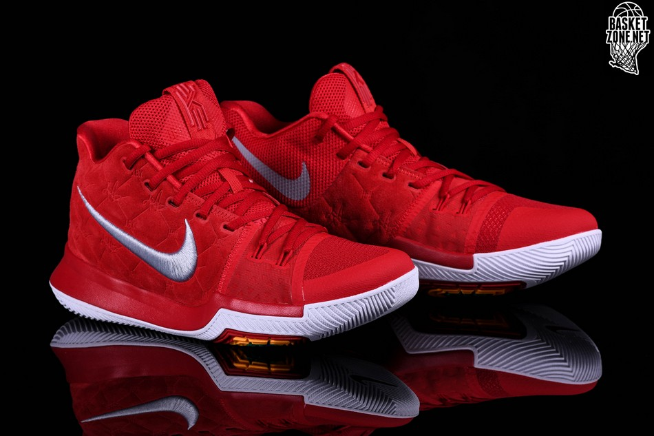 4ebe63e02124 ... low cost nike kyrie 3 red suede 95292 a4a08
