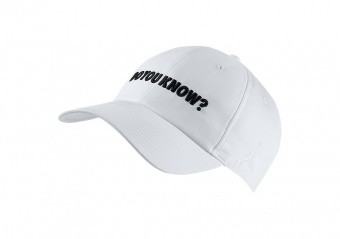 NIKE AIR JORDAN HERITAGE86 'DO YOU KNOW?' HAT WHITE