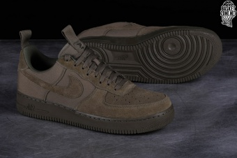 new product fd3e9 4d5c4 NIKE AIR FORCE 1  07 CANVAS MEDIUM OLIVE