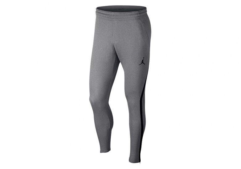 NIKE AIR JORDAN DRY 23 ALPHA TRAINING PANTS CARBON HEATHER