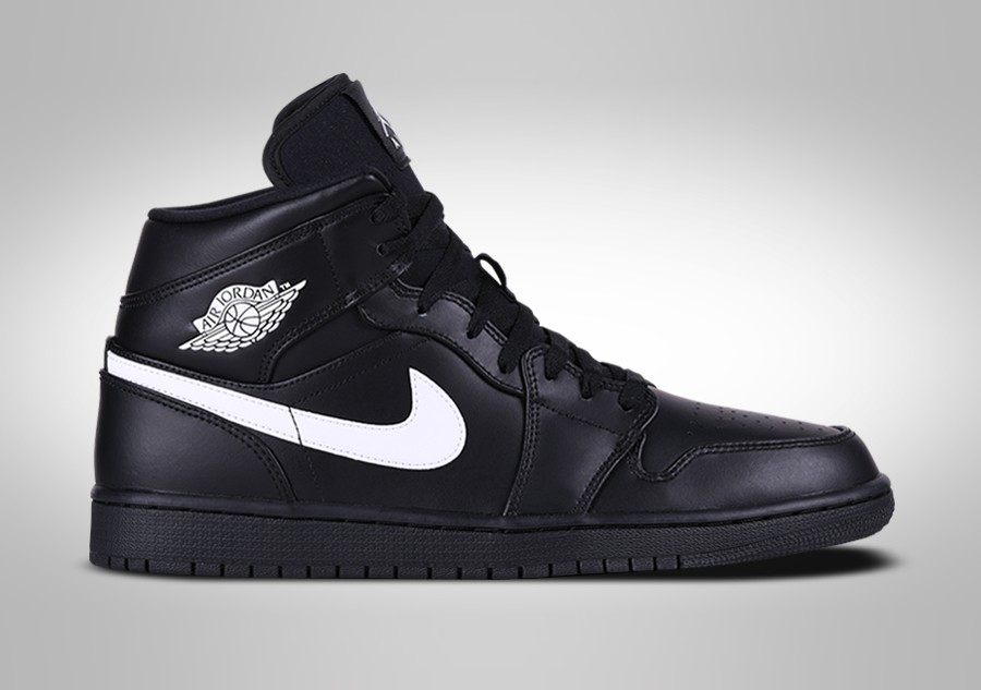9eab7e402838 NIKE AIR JORDAN 1 RETRO MID BLACK WHITE price €109.00