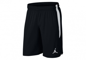 NIKE AIR JORDAN DRI-FIT 23 ALPHA TRAINING KNIT SHORTS BLACK