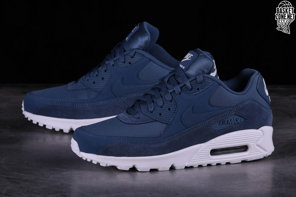 finest selection 37d59 277df NIKE AIR MAX 90 ESSENTIAL DIFFUSED BLUE
