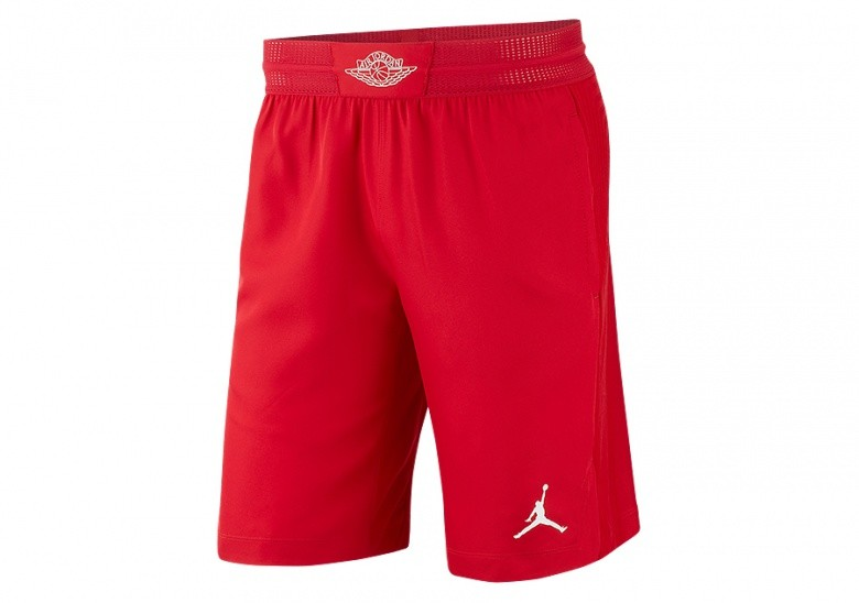 4a40851467a9 NIKE AIR JORDAN ULTIMATE FLIGHT BASKETBALL SHORTS GYM RED voor €62 ...