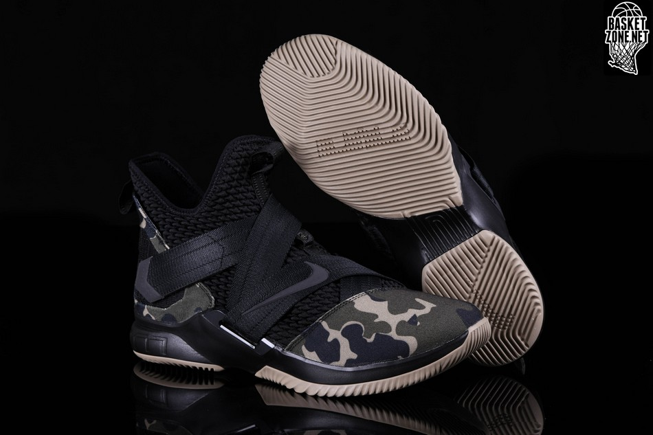 check out 5e3cc 4c260 NIKE LEBRON SOLDIER 12 SFG CAMO voor €137,50 | Basketzone.net