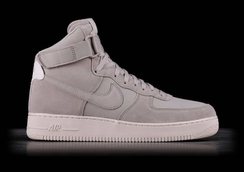 finest selection 19f66 2a89d NIKE AIR FORCE 1 HIGH  07 SUEDE DESERT SAND