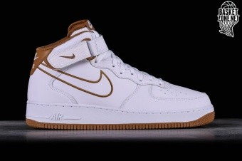new style 35789 60423 NIKE AIR FORCE 1 MID  07 LEATHER WHITE
