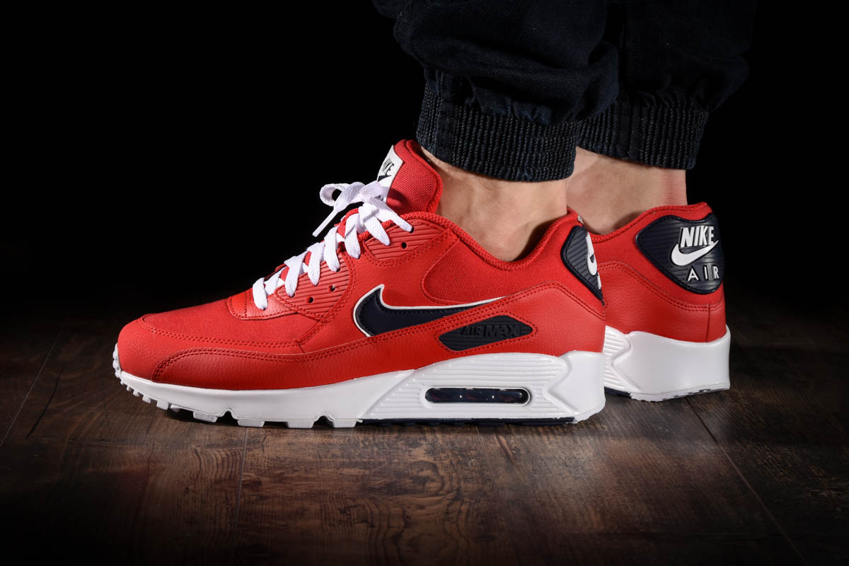 baskets air max 90 essential university red