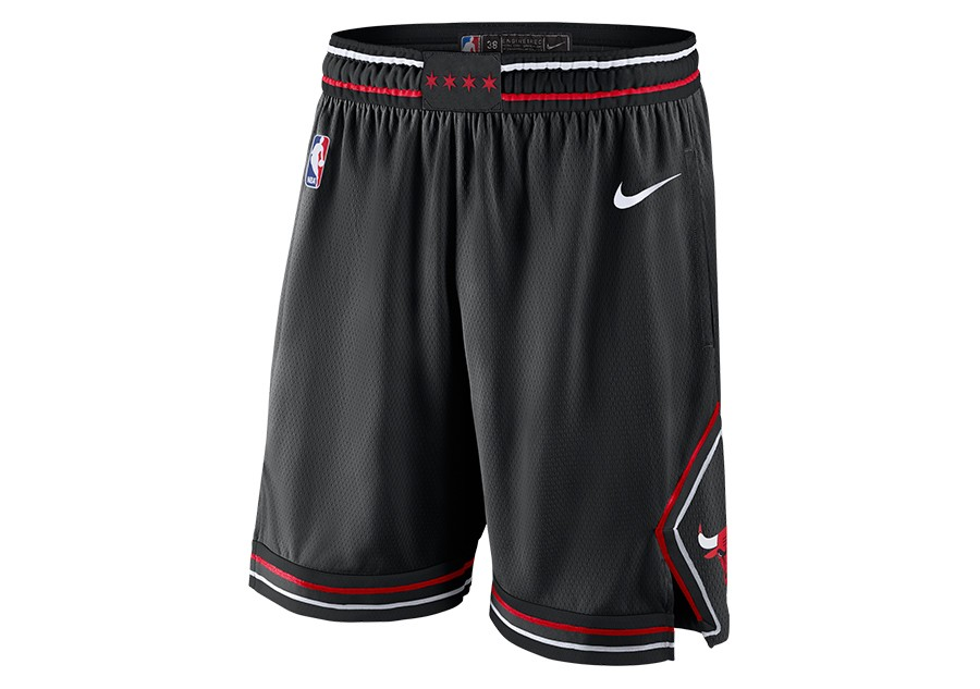 info for c1dd5 4f10d NIKE NBA CHICAGO BULLS STATEMENT EDITION SWINGMAN SHORTS BLACK pour €62,50    Basketzone.net