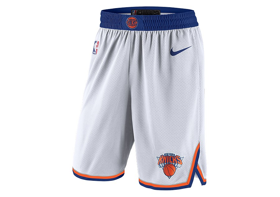 York Nba Swingman Shorts New Knicks White Home Nike Por PEq6wdP